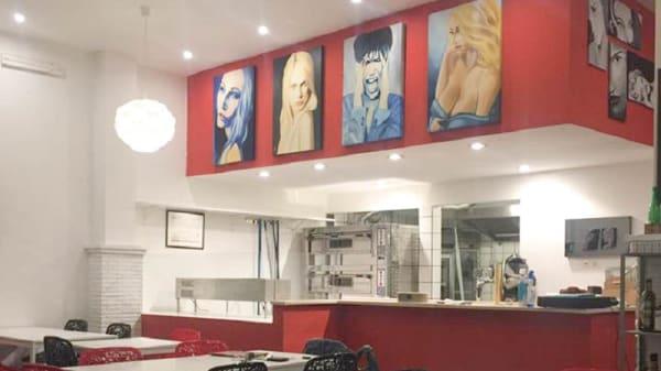 Vista sala - Pizza Gallery, Fiumicino