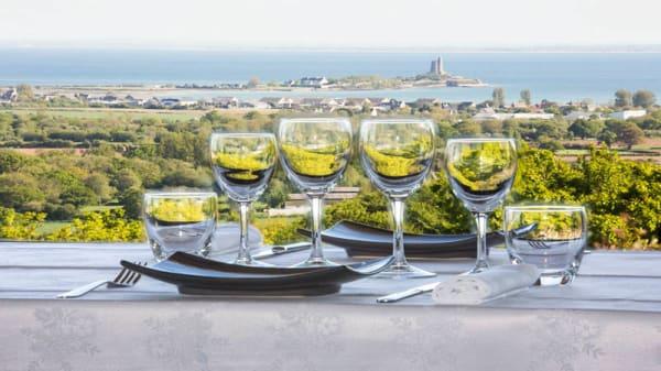 vue panoramique - restaurant Le Panoramique, La Pernelle