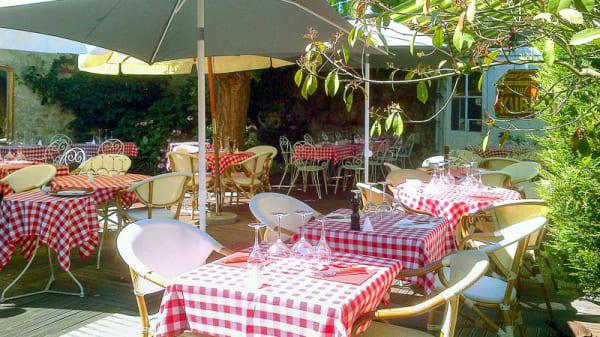 Au calme dans le jardin - Le Bistrot du Broc, Bourron-Marlotte