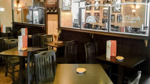 La sala - Restaurante Italiano La Trattoria, Merida