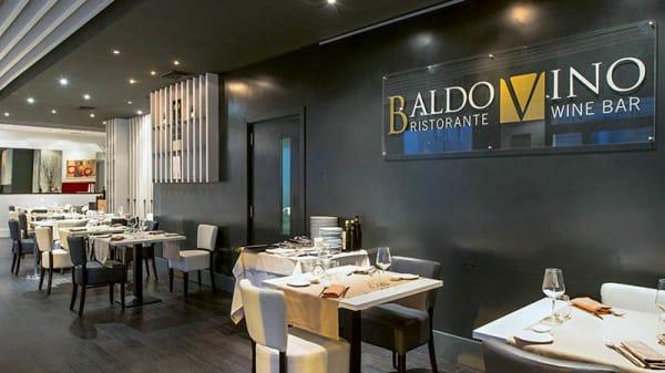 La sala - Baldovino Ristorante Wine Bar, Rome