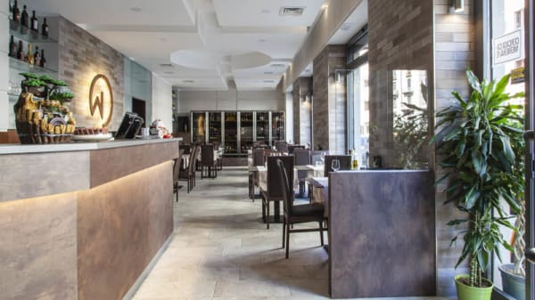 Vista sala - Wond Restaurant, Milano
