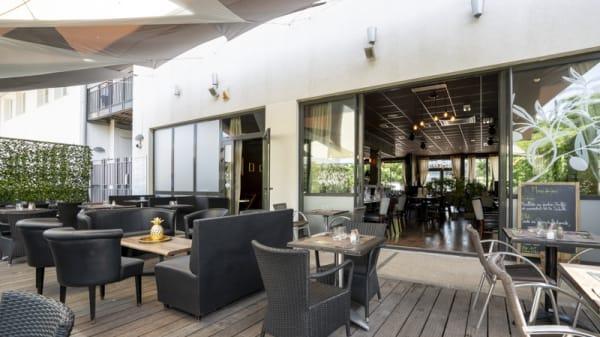 Terrasse - L'Addict, Brignais