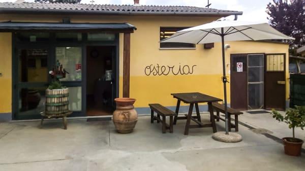 Devanture - Osteria da Antonio alla Stazione, Foiano della Chiana