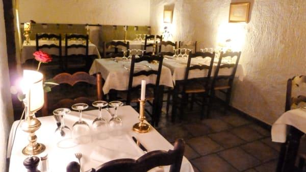 Salle du restaurant - La Garbure, Marseille