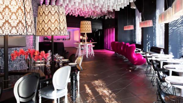 Vista sala - B Lounge - Hotel Barceló Raval, Barcelona