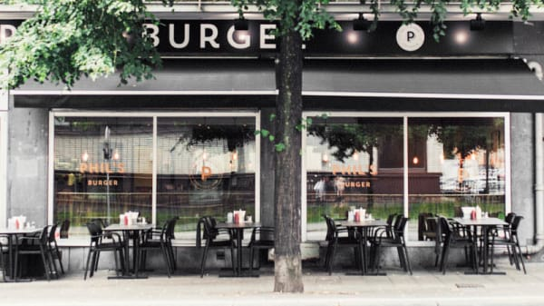 Ingång - Phils Burger Fleminggatan, Stockholm