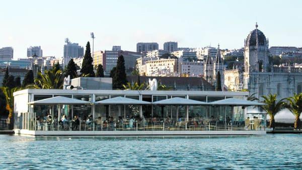 Vista do restaurante - Nosolo Italia - Belém, Lisboa