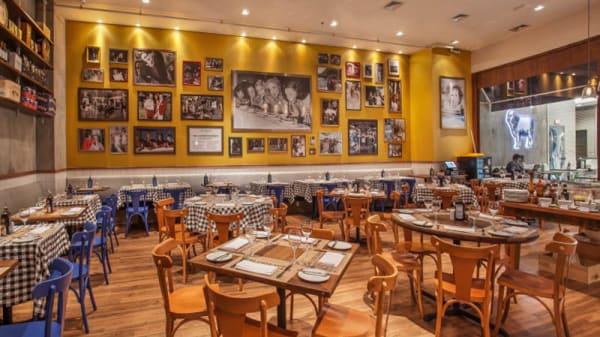 Vista da sala - Pecorino Bar & Trattoria - Shopping Tamboré, São Paulo