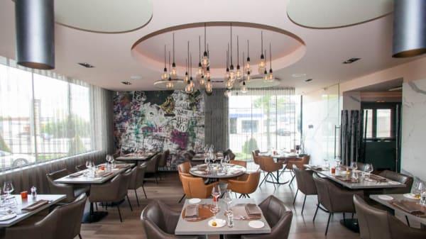 Vue de la salle - Bib Gourmand Restaurant Magnific, Maasmechelen