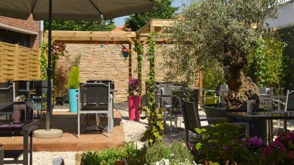 Terrasse - Le Just'in, Villeneuve-d'Ascq