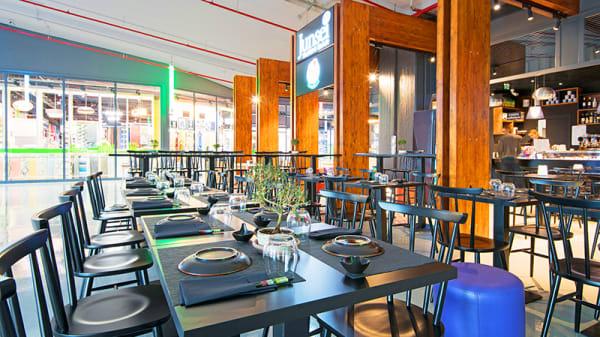 Vista della sala - Junsei Restaurant & Sushi Bar (Salario Center), Rome