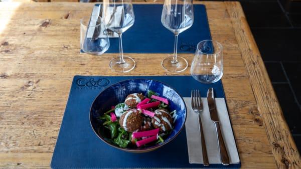 Plat - Cuisine Orientale C&O, Lausanne