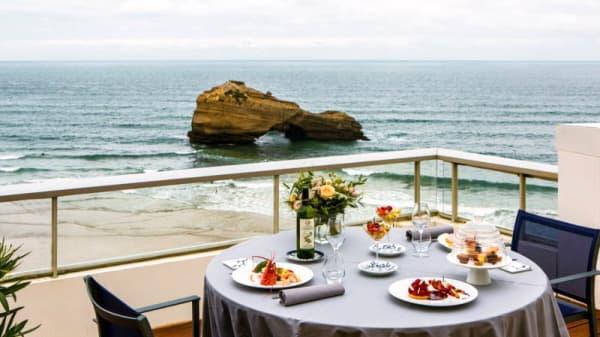 Terrasse - Restaurant Sofitel Biarritz Le Miramar Thalassa sea & spa, Biarritz