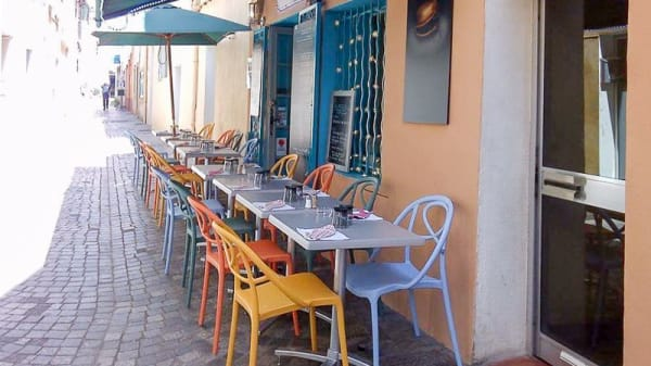 Terrasse - A Table, Sanary-sur-Mer