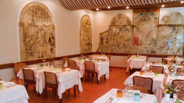 La sala - Al Conte Ugolino, Milan