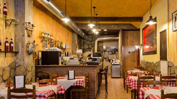 Vista sala - Pizzeria Da Gennaro, Cambrils