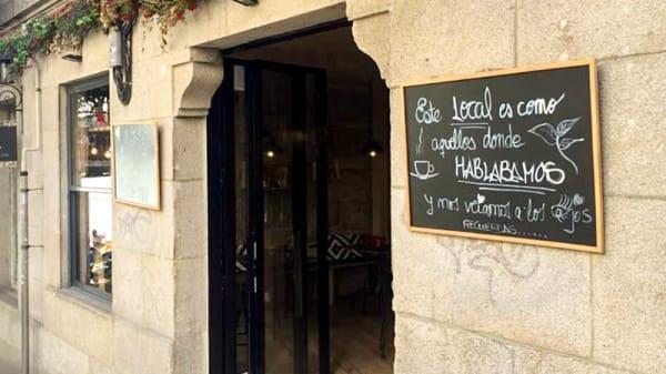 Entrada - Albahaca Eco Pasta Bar, Vigo