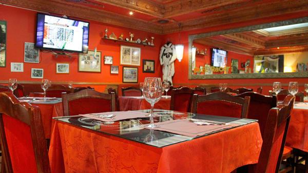 Detalle mesa - Kyiv Café Racer, Madrid