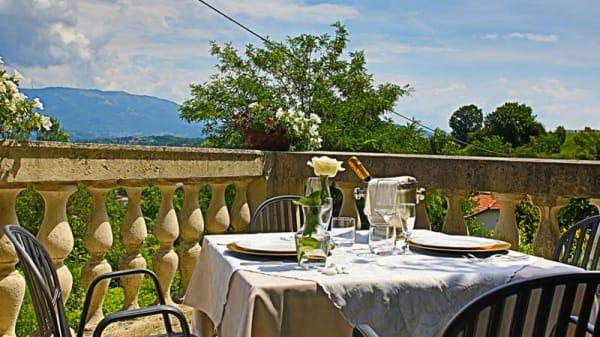 Vista sala - Albergo Ristorante Maggioni, Montevecchia