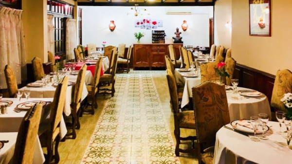 Salon du restaurant - Chez Fleur, Aulnay-sous-Bois