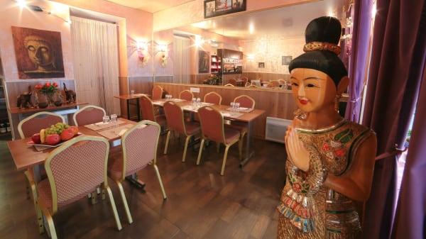 Salle du restaurant - Mae Nam Choaphraya, Paris