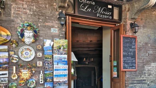 esterno - Osteria La Mossa, Siena