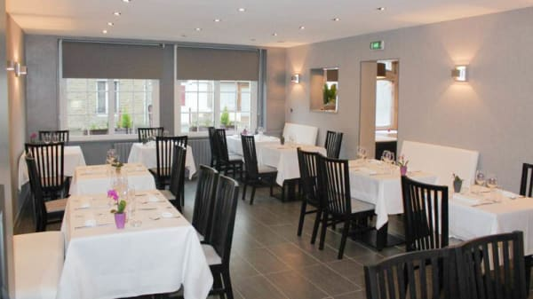 salle restaurant - Auberge Saint Germain, Saint-Germain-du-Crioult