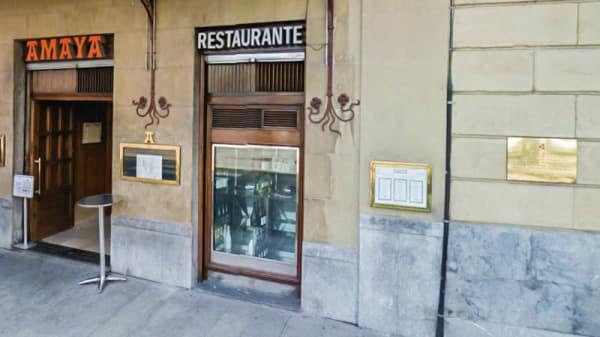 Vista entrada - Amaya, Bilbao