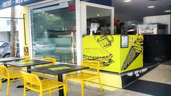 Entrada - Blues Burger, São Paulo