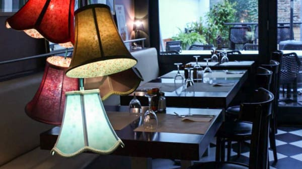 Salon du restaurant - Le Bidule, Toulouse