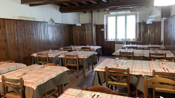 Vista della sala - Ristorante Pizzeria California, Parma