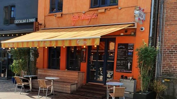 Indgang - Café Smagløs, Aarhus