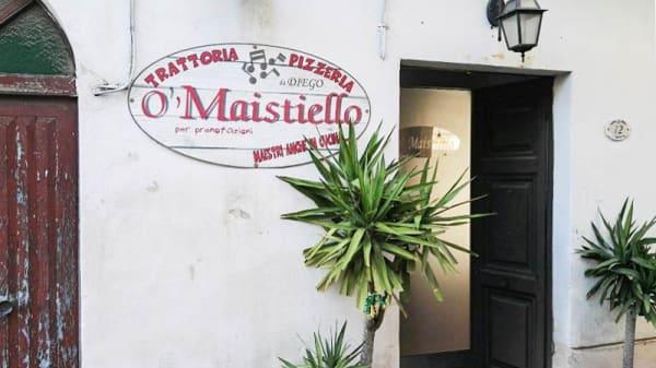 Entrata - Trattoria Pizzeria Maistiello, Lettere