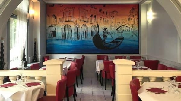Coin de la salle - Pizza de Venise, Maisons-Alfort