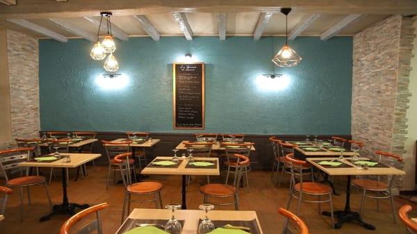 Salle du restaurant - Les Gourmands de Saint-Just, Lyon