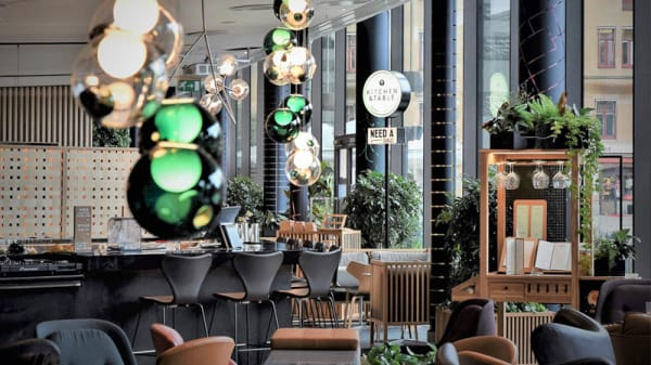 Restaurangens salong - Kitchen and Table Norrmalm @ Clarion Sign, Stockholm