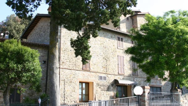 Entrada - La Credenza - Relais Villa Valentini, San Venanzo