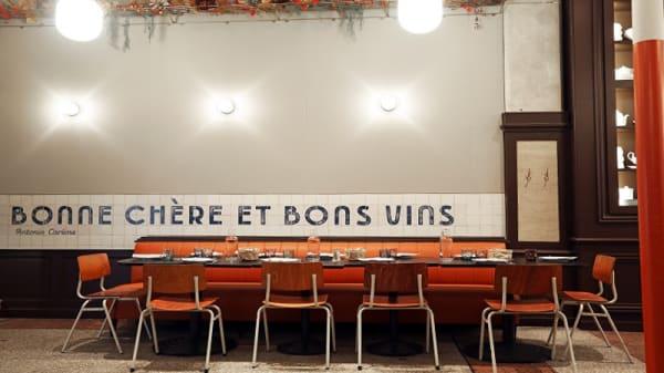 Salle - Brasserie Bouillon Baratte, Lyon