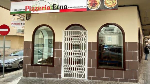 Facciata - Pizzeria Etna, Inca