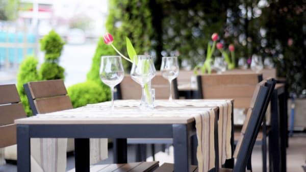 Vue table - Les 4 Saisons, Montreux