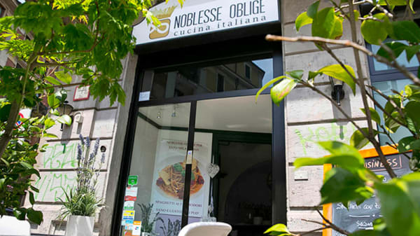 entrata - Noblesse Oblige, Milano