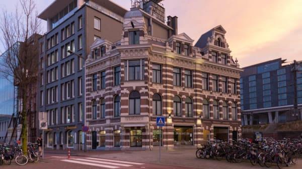 Ingang - Grand Café 1884, Amsterdam