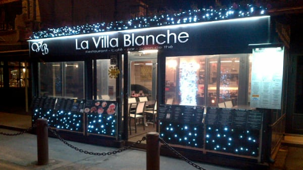 Villa Blanche Décoration Noël - La Villa Blanche, Cancale