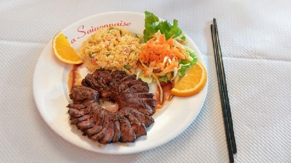 Suggestion du chef - La Saigonnaise, Vannes