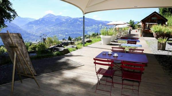 Terrasse - Le Café du Jardin, Plateau d'Assy