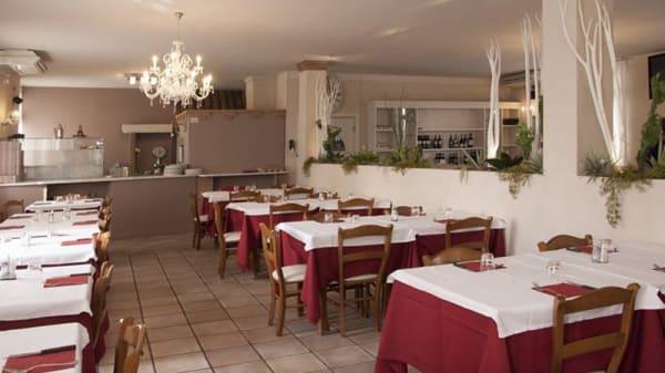 Vista della sala - Trattoria Ristorante Pizzeria al Toscano, Vailate