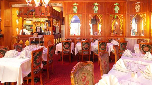 Vue de la salle du restaurant - Etoile du Kashmir, Paris