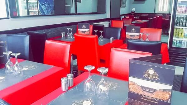 Salle du restaurant - Med, Bonnières-sur-Seine