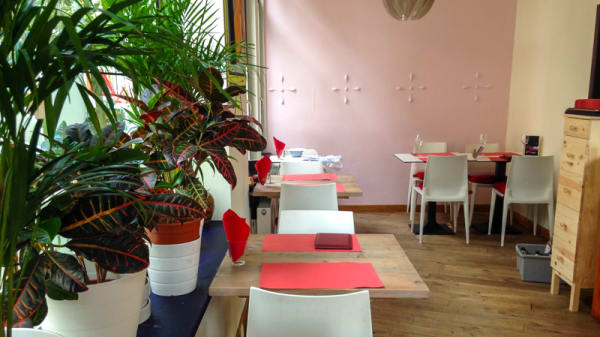 Salle du restaurant - Nora, Antwerpen